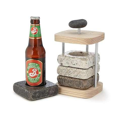 Beverage-Chilling Coaster Sets