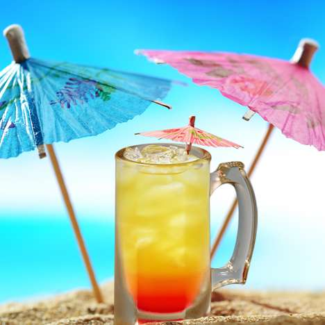 Tropical Black Cherry Cocktails
