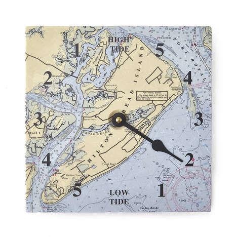 Dapper Tide-Telling Clocks
