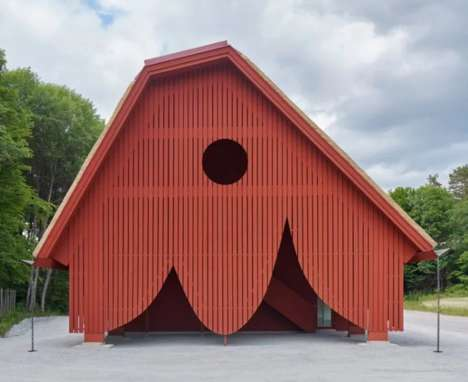 Barn-Like Welcoming Facilities