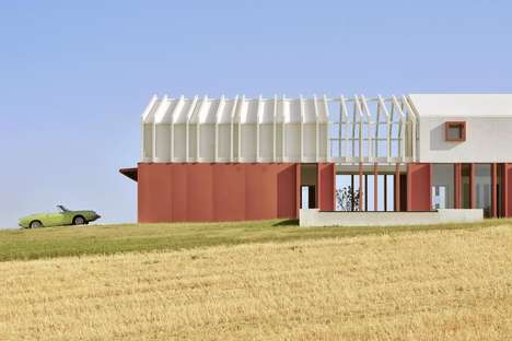 Futuristic Italian Farmhouses