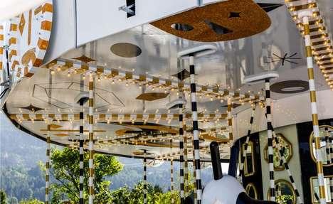 Crystal-Studded Carousels