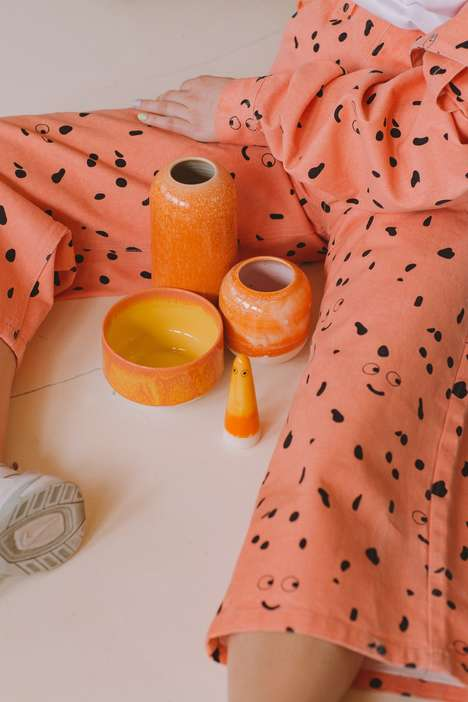 Collaborative Ceramic Clothing Collections