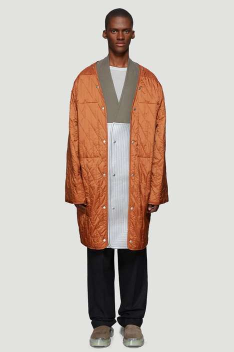 Finely Quilted Outerwear Liners