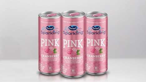 Canned Cranberry Drinks
