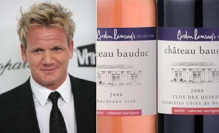 Celebuchef Wine Labels