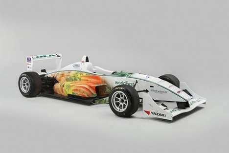 Sustainable F3 Racecars - Warwick's Carrots-and-Potatoes Car Runs on Chocolate