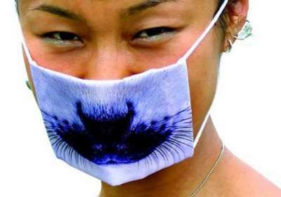 Silly Surgical Masks - Fun Face Masks to Fend Off Swine Flu Symptoms (UPDATE)