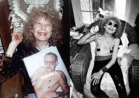 Racy Seniors - Terry Richardson's 'Mom' Photo Set Glamorizes Old Age