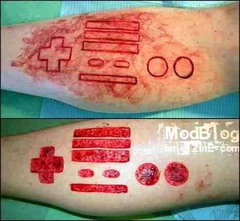 Geeky Battle Scars