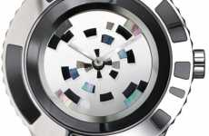 Minimalist Mosaic Watches - Dior 'Christal Mysterieuse' Exudes Mystery and Wonder