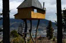 Tea Houses on Stilts - Terunobu Fujimori Designs The Takasugi-an in Japan