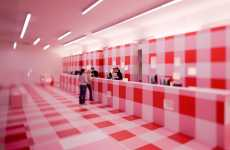 Checkered Architecture - Linz09 Info-Center Fuses Modernism, Tradition, Hospitality