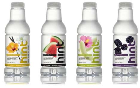 Hibiscus Water - Exotic Flavors of HINT Essence Water Range From Vanilla to Watermelon