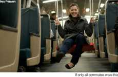 Impromptu Playgrounds - San Franciso Pranksters Install Swings on BART Trains