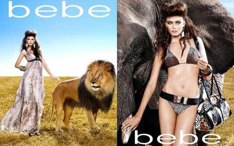 Wild Animal Fashion Campaigns