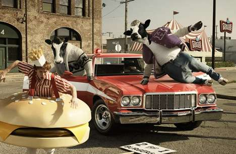 Cows as Action Heros