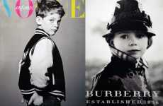 Targeting Mini Fashionistas - Vogue Enfants Paris 2009 Features Only Children