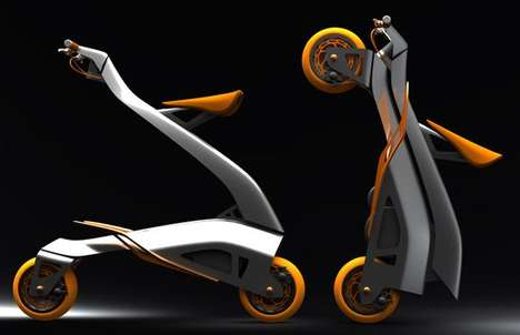 Folding Backpack Bikes - The Collapsible 'Zoomla' Bicycle by Eric Stoddard