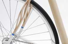 Wooden Bicycles - Holzweg Bike Uses Ash Wood to Enhance Suspension