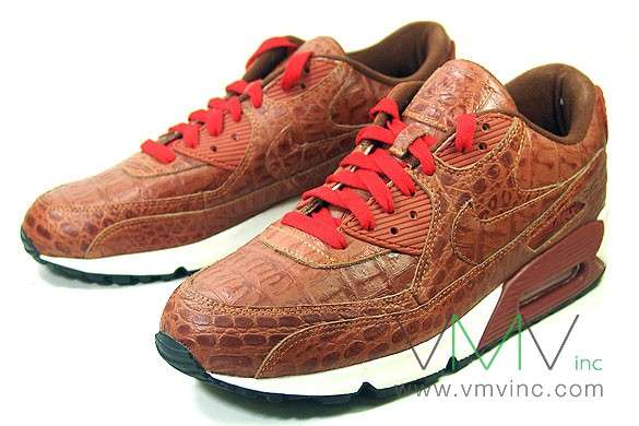 Crocodile Sneakers: Limited-Edition 20th Anniversary Air Max 90's