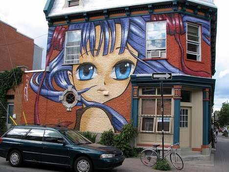 Anime Street Art