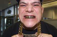 $7,000 Gold Teeth - DJ Talent Showcases His Grill on Britain's Got Talent