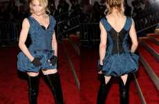 Playful Animal Fashion - Madonna Brings Bunny Ears to 2009 Costume Institute Gala