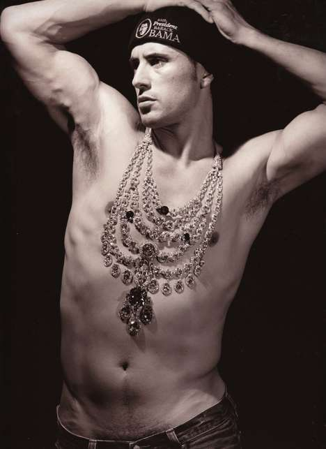 Men Wearing Women's Jewelry