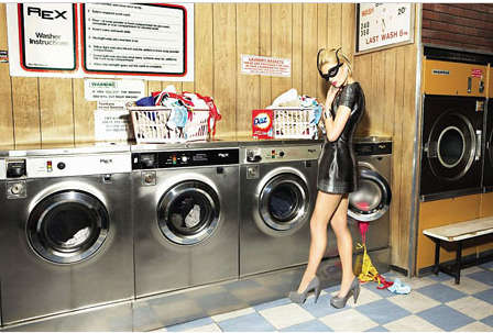 Laundromat Superheroes