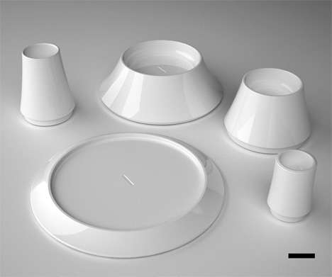 The Plus Minus Dining System Controls Your Food Portions