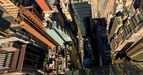 Credit Crunch Tourism - Aerial Virtual Tour of NYC Lets You Check Out Manhattan for Free