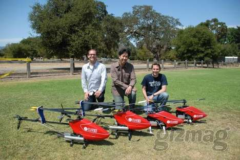 The Stanford Aircraft Teaches Itself to Fly