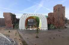 Fantastic Food Markets - Rotterdam's 'Markthal' is a Colorful Covered Outdoor Mark