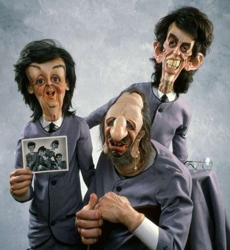Sculpted Caricatures - David O'Keefe's Fascinating Interpretation of Celebrities
