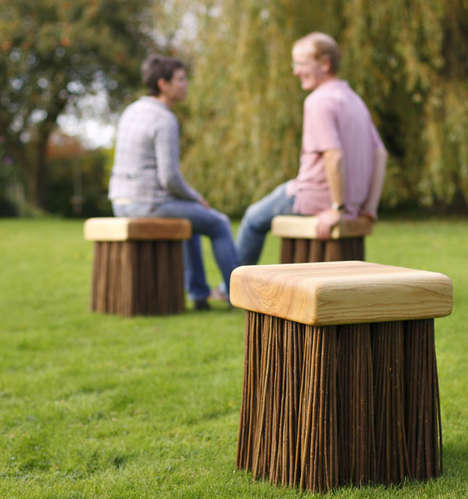 Brush-Inspired Seating