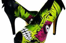 Zombie Pumps - Iron Fist 'Zombie Stomper' Heels Are Frankenstein Fabulous