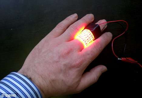 Light Bandages to Cure Cancer