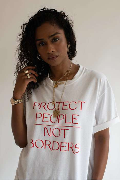 Migrant-Supporting T-Shirt Designs