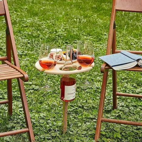 Bespoke Portable Wine Tables