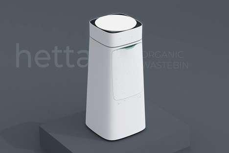 Organic Matter-Drying Trash Cans