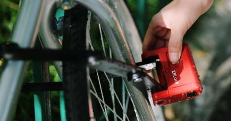 Foldable Smart Bike Locks