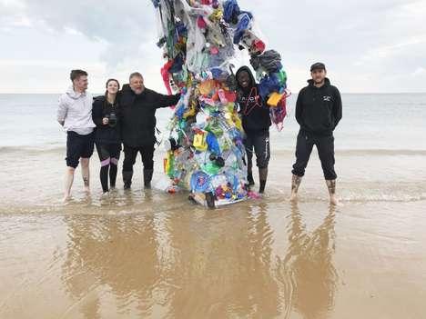 Artistic Anti-Plastic Campaigns