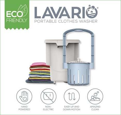 Hand-Powered Washing Machines