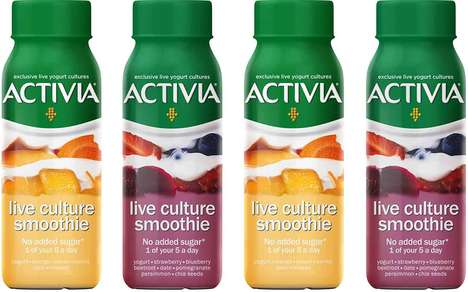 Prepackaged Probiotic Smoothies