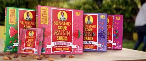 Sour Raisin Snacks
