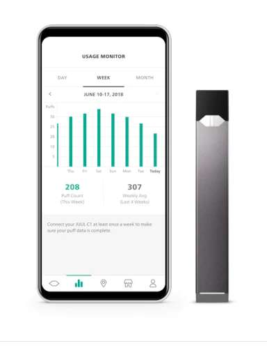 E-Cigarette Tracking Phone Apps