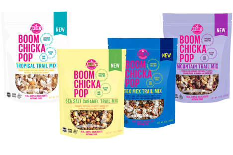 Popcorn-Packed Trail Mixes
