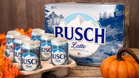 Beer-Branded Lattes