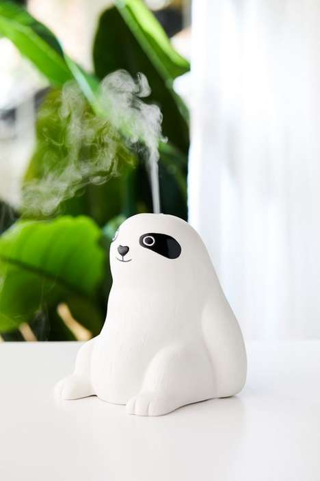 Sloth-Shaped Essential Oil Diffusers